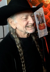 "Welcoming Willie Nelson at ""Angels Sing"" charity event screening, Sunday, 11/3/13"