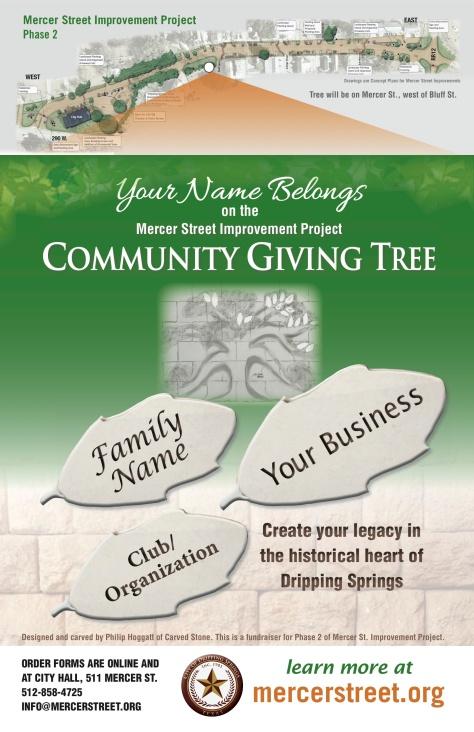 MercerStreet GivingTree poster