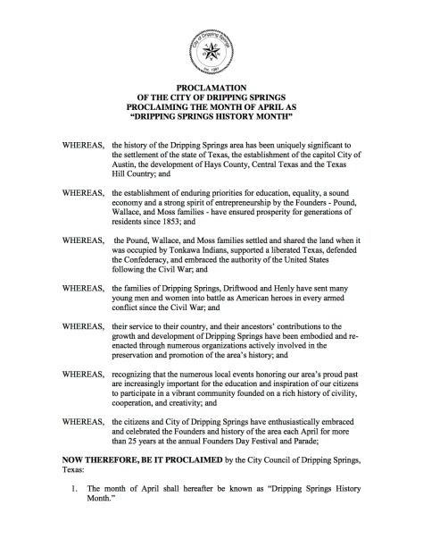 April DS HistoryMonth p1 Proclamation 2-27-14